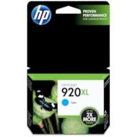 HP 920XL Cyan High Yield Ink Cartridge (CD972AN)
