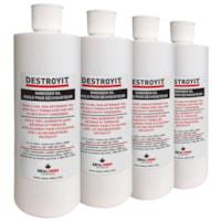 Huile pour déchiqueteuse à formule spéciale DestroyIt Ideal-MBM, 473 ml, caisse de 4