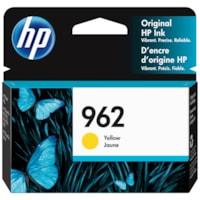 Cartouche d'encre d'origine à rendement standard HP 962 (3HZ98AN), jaune