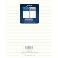 Filofax Notebook Lined Refill Paper, Cream, 7 1/4