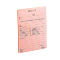 Hilroy Phone Message Pads