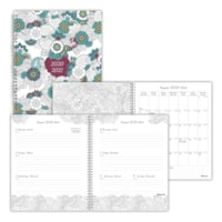 Blueline 12-Month DoodlePlan Weekly/Monthly Academic Planner, 10 1/4