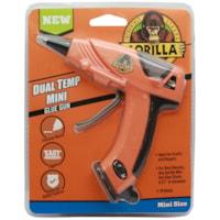 Mini pistolet à colle à deux températures Gorilla, orange