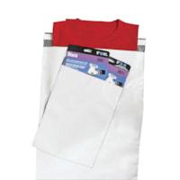 Enveloppes en poly Crownhill, blanc, 19 po x 24 po, caisse de 125