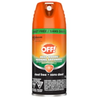 OFF! Deep Woods Insect and Tick Repellent, Aerosol Spray, 170 g