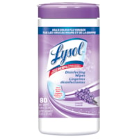 Lysol Disinfecting Wipes, Lavender Scent, 80/PK