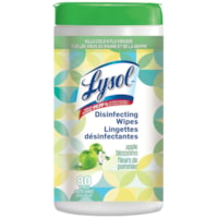 Lysol Disinfecting Wipes, Apple Blossom Scent, 80 Wipes