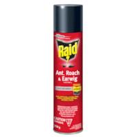 Insecticide contre fourmis, coquerelles et perce-oreilles Raid, aérosol, 350 g