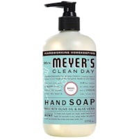 Mrs. Meyer's Clean Day Hand Soap, Basil Scent, 370 mL