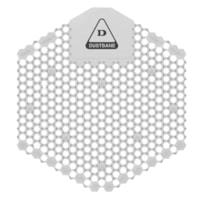 Tamis d'urinoir désodorisant avec technologie enzymatique 3D Shield Dustbane, non parfumé, caisse de 10