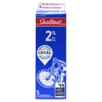 Sealtest 2% Partly Skimmed Milk, 1 L