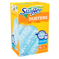 Swiffer 180° Dusters Cleaner Refills, Unscented, 10/BX