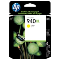 HP 940XL Yellow High Yield Original Ink Cartridge (C4909AN)