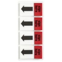 Languettes autoadhésives « Sign Here » de 1 po Grand & Toy