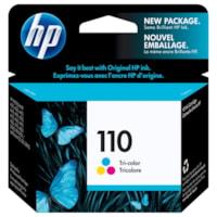 Cartouche d'encre à rendement standard HP 110 (CB304AN), tricolore