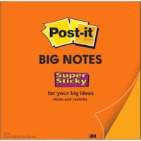 Post-it Super Sticky Big Notes, Orange, 15