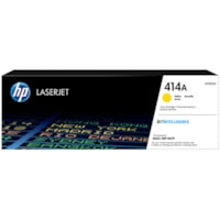 HP 414A Yellow Standard Yield Toner Cartridge (W2022A)