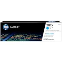 Cartouche de toner à rendement élevé HP 202X (CF501X), cyan