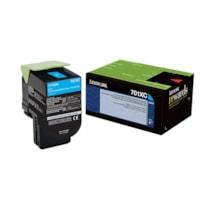Lexmark 701XC Cyan Extra-High Yield Return Program Toner Cartridge (70C1XC0)