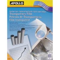 Apollo Premium Quality Letter-Size Transparency Film, 100/Bx