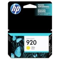HP 920 Yellow Standard Yield Ink Cartridge (CH636AN)
