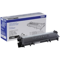 Brother Black High Yield Laser Toner Cartridge (TN660)