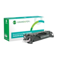 Grand & Toy Remanufactured HP 05A Black Standard Yield Toner Cartridge (CE505A)