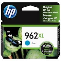 HP 962XL Cyan Original High Yield Ink Cartridge (3JA00AN)