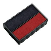 Tampon encreur de rechange bleu et rouge Trodat