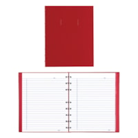 Blueline NotePro Coiled Notebook, 192 Pages, Red, 9 1/4