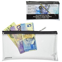 Merangue Multi-Purpose Zipper Bag, Clear