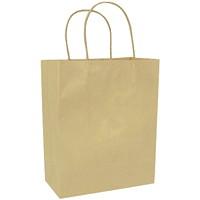 Gunther Mele Paper Bags, Brown Kraft, 8