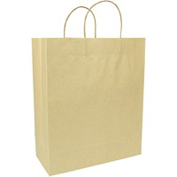 Sacs en papier Gunther Mele, papier kraft brun, 13po x 6po x 15po, caisse de 250