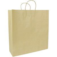 Sacs en papier Gunther Mele, papier kraft brun, 16po x 6po x 19po, caisse de 250
