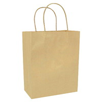 Gunther Mele Paper Bags, Brown Kraft, 7