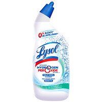 Lysol Hydrogen Peroxide Toilet Bowl Cleaner, Cool Spring Breeze Scent, 710 mL
