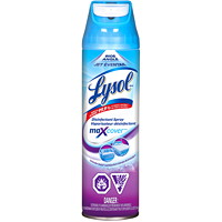 Lysol MaxCover Wide Angle Disinfectant Spray, Lavender Fields Scent, 425 g