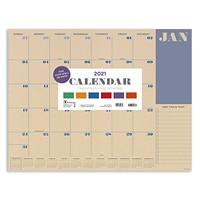 TF Publishing Monthly Desk Pad Calendar, 17