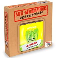 TF Publishing 12-Month Anti-Affirmations Daily Desk Calendar, 5 1/2