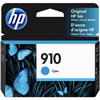 HP 910 Cyan Standard Yield Ink Cartridge (3YL58AN)
