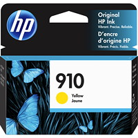 HP 910 Yellow Standard Yield Ink Cartridge (3YL60AN)
