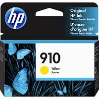HP 910 Yellow Standard Yield Ink Cartridge (3YL60AN)