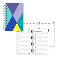 Blueline 12-Month Daily/Monthly Academic Planner, 8