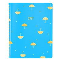 Blueline 12-Month Weekly/Monthly Funsie Design Planner, Umbrella, 11