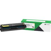 Lexmark C341XY0 Yellow High Yield Return Program Toner Cartridge