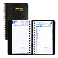 Blueline 12-Month Daily Pocket Planner, 6