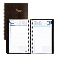 Blueline 12-Month Daily Planner, 8