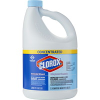 Clorox Commercial Grade Germicidal Bleach, Concentrated, 3.57 L, 3/CT