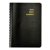 Grand & Toy 12-Month Daily Softcover Planner, 8