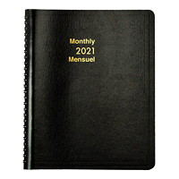 Grand & Toy 12-Month Monthly Planner, 8 3/4